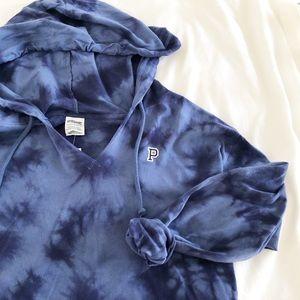 ✨🆕 PINK l Lightweight Tie Dye Hoodie Sweatshirt